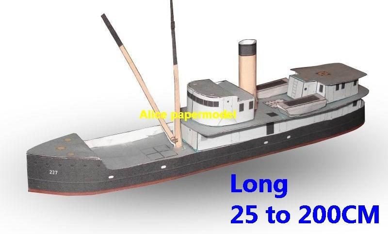 Coast Guard Yacht big large scale size ship sailing boat model models cargo container tanker bulk freighter passenger liner cruise cruiser tugboat Ferry Sailboat papercraft paper on for sale shop store