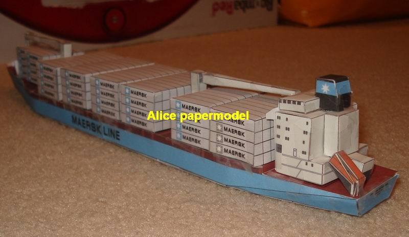 1:700 1:350 1:87 1:72 maersk alabama big large scale size ship sailing boat models model cargo container tanker bulk freighter passenger liner cruise cruiser tugboat Ferry Sailboat papercraft paper on for sale shop store