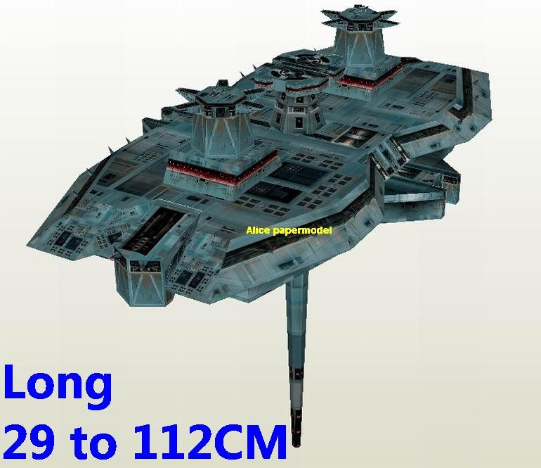 Starwar advanced Imperial Golan III defense platform fighter jedi starfighter aircraft Startrek starwars star war starship starcraft big large scale size universe cosmos alien spaceship fighter spacecraft space battleship cruiser station UFO Science fiction SCFI models model papercraft on for sale shop store