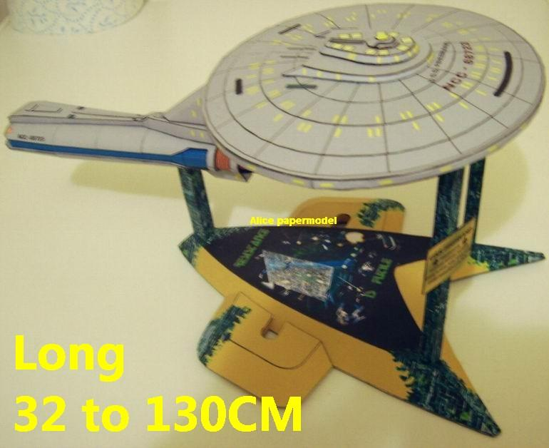 Startrek Freedom class USS NCC 1701 NCC1701 enterprise aircraft Star Trek starwar starship starcraft big large scale size universe cosmos alien spaceship fighter spacecraft space battleship cruiser station UFO Science fiction SCFI models model papercraft on for sale shop store