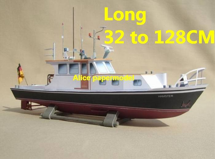 German yacht work boat workboat tugboat big large scale size ship sailing boat model models cargo container tanker bulk freighter passenger liner cruise cruiser tugboat Ferry Sailboat papercraft Military army Soldiers Barbie doll model scene paper on for sale store shop