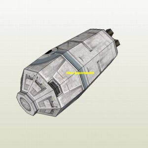 Starwar escape pod jedi starfighter aircraft Startrek starwars star war starship starcraft big large scale size universe cosmos alien spaceship fighter spacecraft space battleship cruiser station UFO Science fiction SCFI model models papercraft on for sale shop store