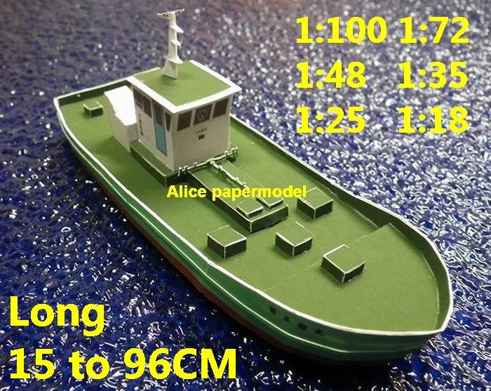 tugboat workboat work boat Coast Guard big large scale size ship sailing boat model models yacht passenger liner cruise cargo container tanker bulk freighter cruiser Ferry Sailboat papercraft Military army Soldiers Barbie doll model scene paper on for sale store shop
