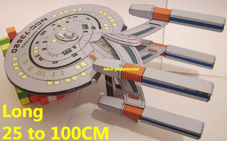 Startrek Cheyenne Class USS NCC 1701 eNCC1701 nterprise aircraft Star Trek starwar starship starcraft big large scale size universe cosmos alien spaceship fighter spacecraft space battleship cruiser station UFO Science fiction SCFI models model papercraft on for sale shop store