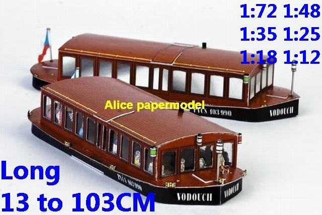 Sightseeing Ferries yacht big large scale size ship sailing boat paper models model cargo container tanker bulk freighter passenger liner cruise cruiser tugboat Ferry Sailboat Military army Soldiers Barbie doll model scene papercraft on for sale shop store