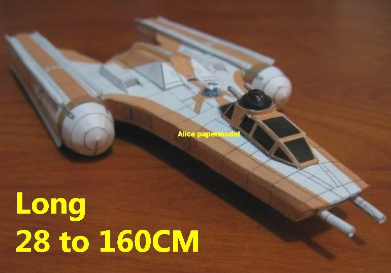 Starwar Y wing Y-wing Ywing starfighter bombers Koensayr Manufacturing jedi starfighter aircraft Startrek starwars star war starship starcraft big large scale size universe cosmos alien spaceship fighter spacecraft space battleship cruiser station UFO Science fiction SCFI models model papercraft on for sale shop store