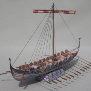 Nordic Viking Pirate Long ship Drakkar ancient tugboat workboat big large scale size ship sailing boat model models cargo container tanker bulk freighter passenger liner cruise cruiser tugboat Ferry Sailboat papercraft Military army Soldiers Barbie doll model scene paper on for sale shop store