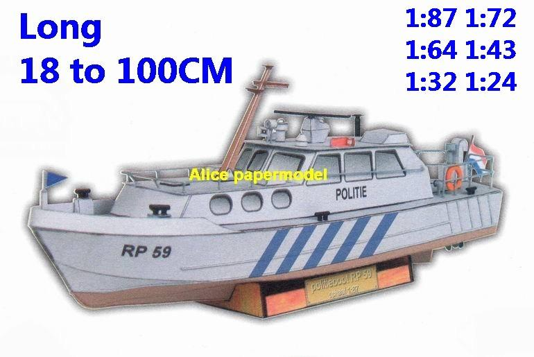 maritime marine police patrol Ship bulk freighter Yacht vessel big large scale size ship sailing boat models model passenger liner cruise cargo container tanker cruiser tugboat Sailboat Ferry papercraft Military army Soldiers Barbie doll model scene paper on for sale store shop
