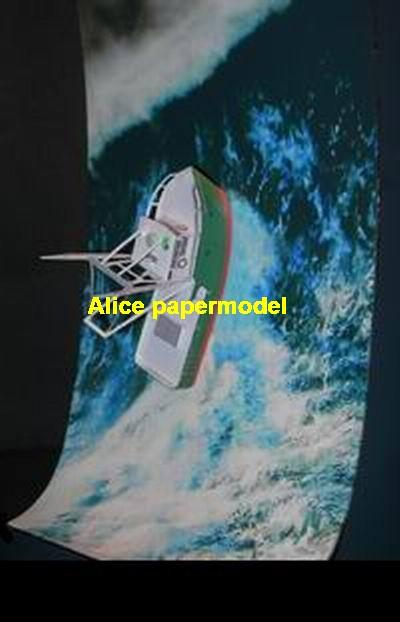 Perfect Storm fishboat fishing ship passenger liner cruise big large scale size ship sailing boat model models cargo container tanker bulk freighter cruiser tugboat Ferry Sailboat papercraft Military army Soldiers Barbie doll model scene paper on for sale store shop