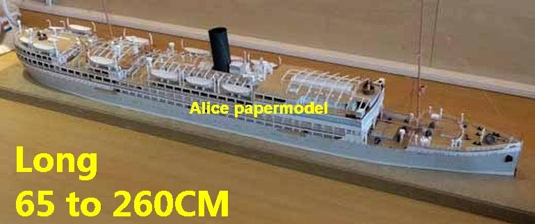 passenger liner ship boat river patrol passenger Yacht vessels big large scale size ship sailing boat models model cruise cargo container tanker bulk freighter cruiser tugboat Ferry Sailboat papercraft Military army Soldiers Barbie doll model scene paper for on sale store shop