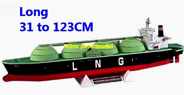carrier tank Ship transporting liquefied natural gas bulk freighter vessel big large scale size ship sailing boat models model passenger liner cruise cargo container tanker cruiser tugboat Sailboat Ferry papercraft Military army Soldiers Barbie doll model scene paper on for sale store shop