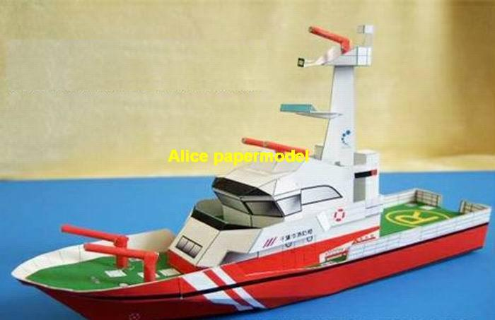 fire boat torpedo boat armed river patrol gunboat passenger Yacht vessels big large scale size ship sailing boat models model passenger liner cruise cargo container tanker bulk freighter cruiser tugboat Ferry Sailboat papercraft Military army Soldiers Barbie doll model scene paper for on sale store shop