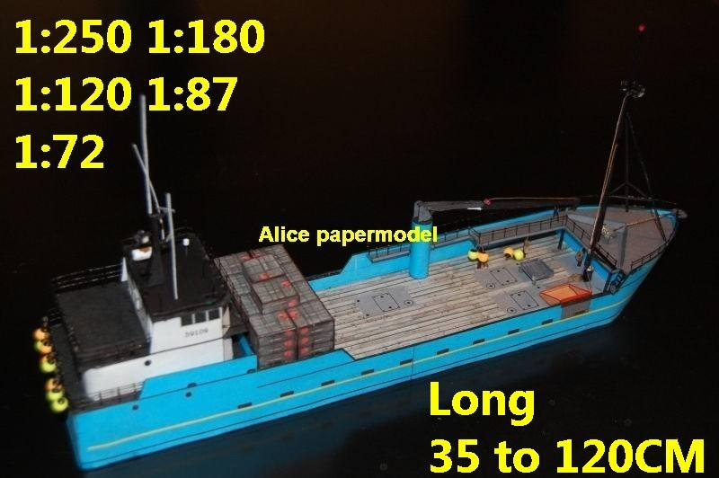 bulk freighter big large scale size ship sailing boat models model passenger liner cruise cargo container tanker cruiser Ferry tugboat Sailboat papercraft Military army Soldiers Barbie doll model scene paper on for sale store shop