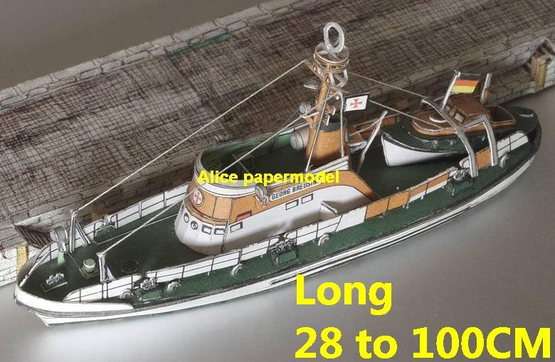 Workboat Maritime Marine rescue boat cargo Ship bulk freighter vessels ship big large scale size ship sailing boat models model passenger liner cruise cargo container tanker cruiser tugboat Ferry Sailboat papercraft Military army Soldiers Barbie doll model scene paper on for sale store shop