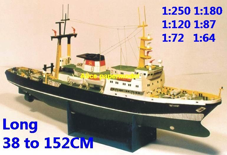 Science research Coast Guard Fishing bulk freighter vessel big large scale size ship sailing boat models model passenger liner cruise cargo container tanker cruiser Ferry Sailboat tugboat papercraft Military army Soldiers Barbie doll model scene paper on for sale store shop