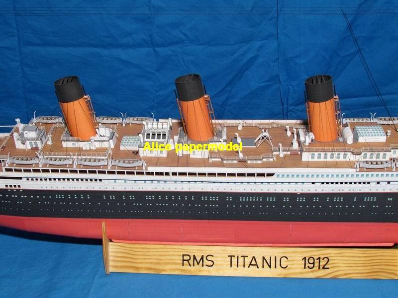 UK Titanic luxury yacht MSC Costa NCL Royal caribbean Princess ferry bulk freighter cruiser vessels ship big large scale size ship sailing boat models model passenger liner cruise cargo container tanker cruiser tugboat Sailboat Ferry papercraft Military army Soldiers Barbie doll model scene paper on for sale store shop