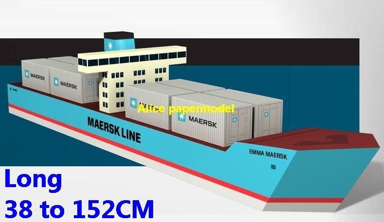 Maersk Container ocean cargo ship oil tanker bulk freighter passenger ship Costa MSC NCL Royal caribbean ferry cruiser vessels ship big large scale size ship sailing boat models model passenger liner cruise cruiser tugboat Sailboat Ferry papercraft Military army Soldiers Barbie doll model scene paper on for sale shop store