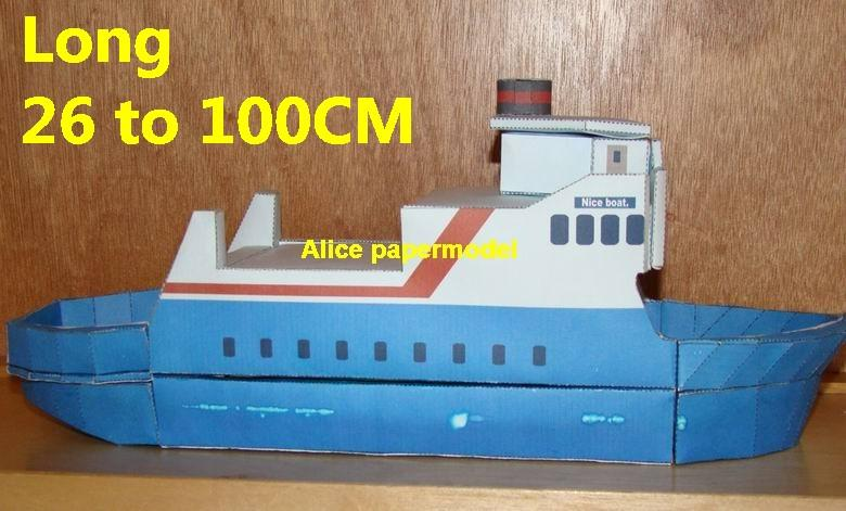 ship torpedo boat armed river patrol gunboat passenger Yacht vessels big large scale size ship sailing boat models model passenger liner cruise cargo container tanker bulk freighter cruiser tugboat Ferry Sailboat papercraft Military army Soldiers Barbie doll model scene paper for on sale store shop