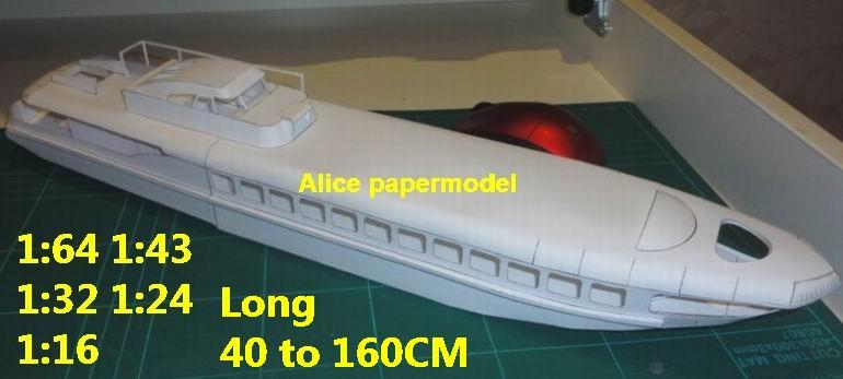 Hydrofoil Hydrofoils catamaran hovercraft Double hull bulk freighter vessel  Yacht big large scale size ship sailing boat models model passenger liner
