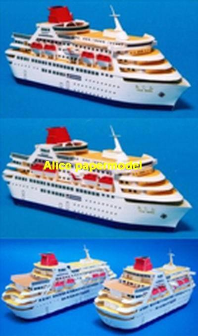 Q type cute luxury yacht Costa NCL MSC Royal caribbean Princess passenger liner cruise big large scale size ship sailing boat model models cargo container tanker bulk freighter cruiser tugboat Ferry Sailboat papercraft Military army Soldiers Barbie doll model scene paper on for sale store shop