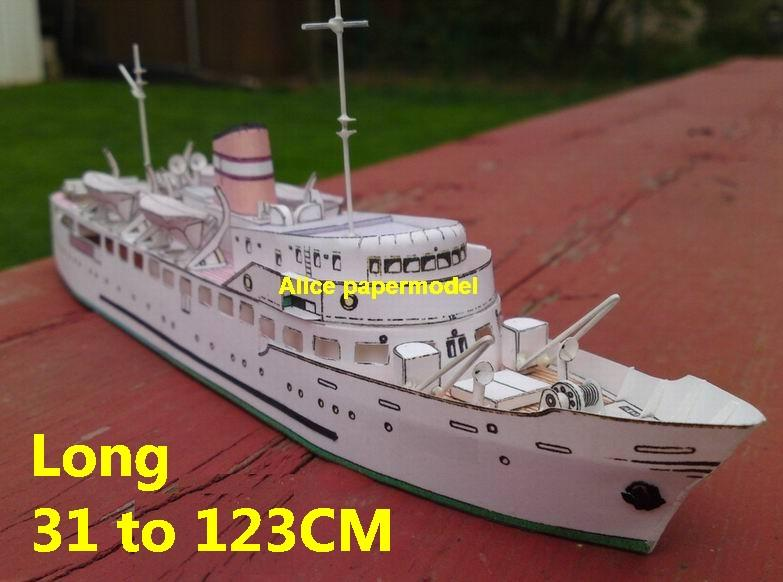 passenger ship big large scale size ship sailing boat model models passenger liner cruise cargo container tanker bulk freighter cruiser tugboat Ferry Sailboat papercraft Military army Soldiers Barbie doll model scene paper on for sale store shop