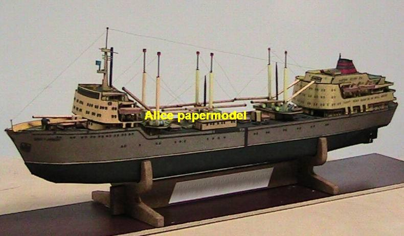 the ocean going ship big large scale size ship sailing boat model models passenger liner cruise cargo container tanker bulk freighter cruiser tugboat Ferry Sailboat papercraft Military army Soldiers Barbie doll model scene paper on for sale store shop