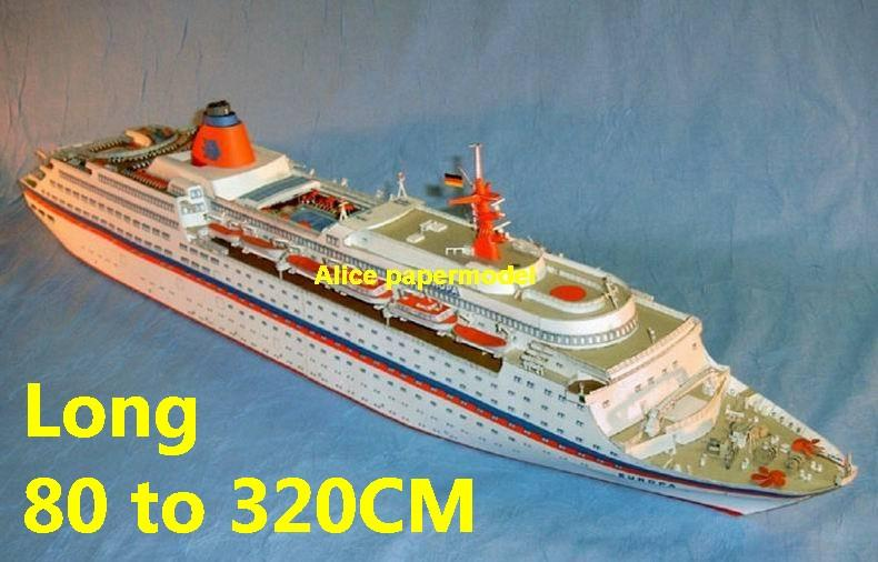 Hapag Lloyd MS Europa streamlined luxury cruise cargo Container ship boat river passenger Yacht vessels big large scale size ship sailing boat models model passenger liner cruise cargo container tanker bulk freighter cruiser tugboat Ferry Sailboat papercraft Military army Soldiers Barbie doll model scene paper on for sale store shop