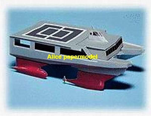 catamaran Double hull hovercraft Hydrofoil Hydrofoils vessel bulk freighter big large scale size ship sailing boat models model passenger liner cruise cargo container tanker cruiser tugboat Sailboat Ferry papercraft Military army Soldiers Barbie doll model scene paper on for sale shop store