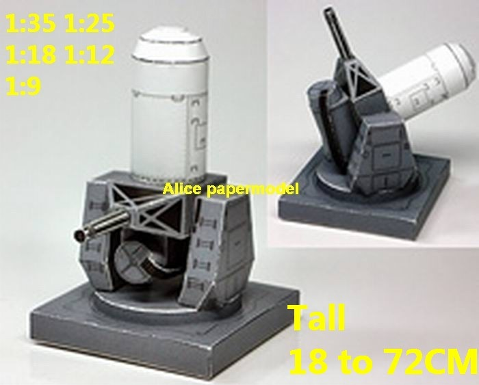 USA USN DDG Arleigh Burke class destroyer Phalanx CIWS AK-630 AK630 gatling gun Close in weapon system infrared homing SLBM Ballistic air to air SAM ground to air guided missile rocket spaceship plane NASA plan rocket space shuttle Satellite large big scale size model scene army Dioramas diorama Scenes Scenery background base models kit on for sale shop store