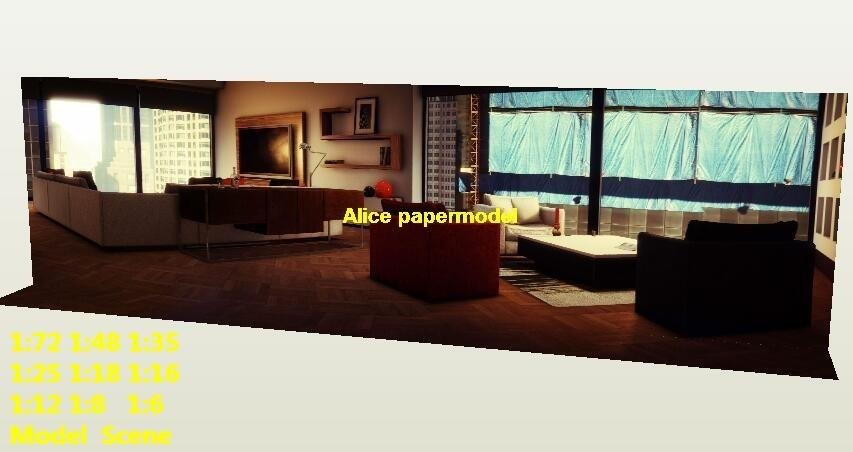 apartment house room villa indoor scene DC dark Knight batman jokers joker Marvel Justice League The Avengers Avenger HOT action figure HOTTOYS HT toy toys Construction Ruins parking garage warehouse lot area Barbie doll house Military Soldiers Fit for Miniature set car street model scene Dioramas diorama building Street Scenes Accessories Scenery background base models kit on for sale shop store
