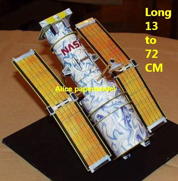 USA US NASA plan Hubble Space Telescope Satellite missile launch vehicle spaceship rocket plane space shuttle big large scale size army Dioramas diorama Barbie doll Military Soldiers model scene scenes scenery background base models kit on for sale shop store