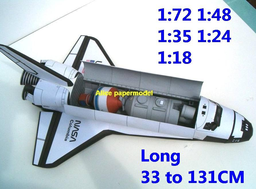 USA US NASA Raketoplan space shuttle Columbia Launch vehicle launcher buran energia Space Transportation System STS carrier rocket Ballistic missile plane Satellite spaceship large big scale size model army Dioramas diorama Barbie doll Military Soldiers scene scenes scenery background base models kit on for sale shop store
