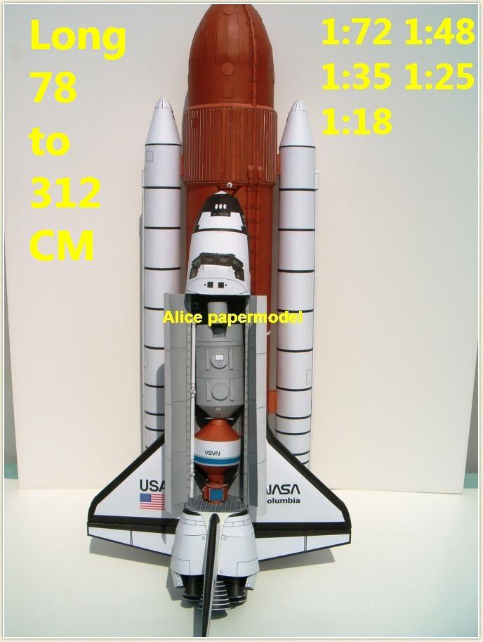US USA NASA Columbia Raketoplan space shuttle launcher Launch vehicle buran energia Space Transportation System STS carrier rocket Ballistic missile plane Satellite spaceship large big scale size model army Dioramas diorama Barbie doll Military Soldiers scene scenes scenery background base models kit on for sale shop store