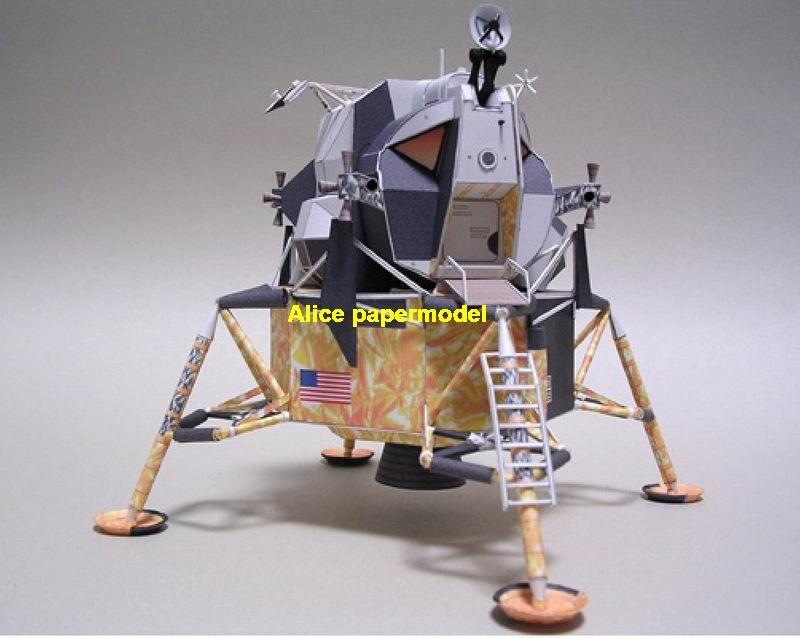 USA NASA Apollo lunar module astronaut landing Moon LM command CM Satellite rocket spaceship large big scale size model models kit on for sale shop store