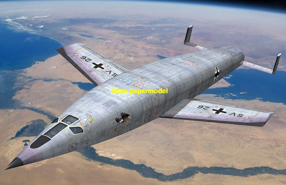 WWII German Germany Vengeance Weapon 2 America Sanger Bomber flying bomb infrared homing SLBM Ballistic air to air SAM ground to air guided missile rocket spaceship plane NASA plan rocket space shuttle Satellite large big scale size model scene army Dioramas diorama Scenes Scenery background base models kit on for sale shop store