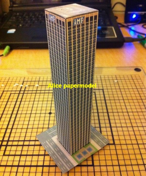 AMP centre Sydney Australia city skyscraper highrise tall High building city scene big large scale size model models kit on for sale shop store