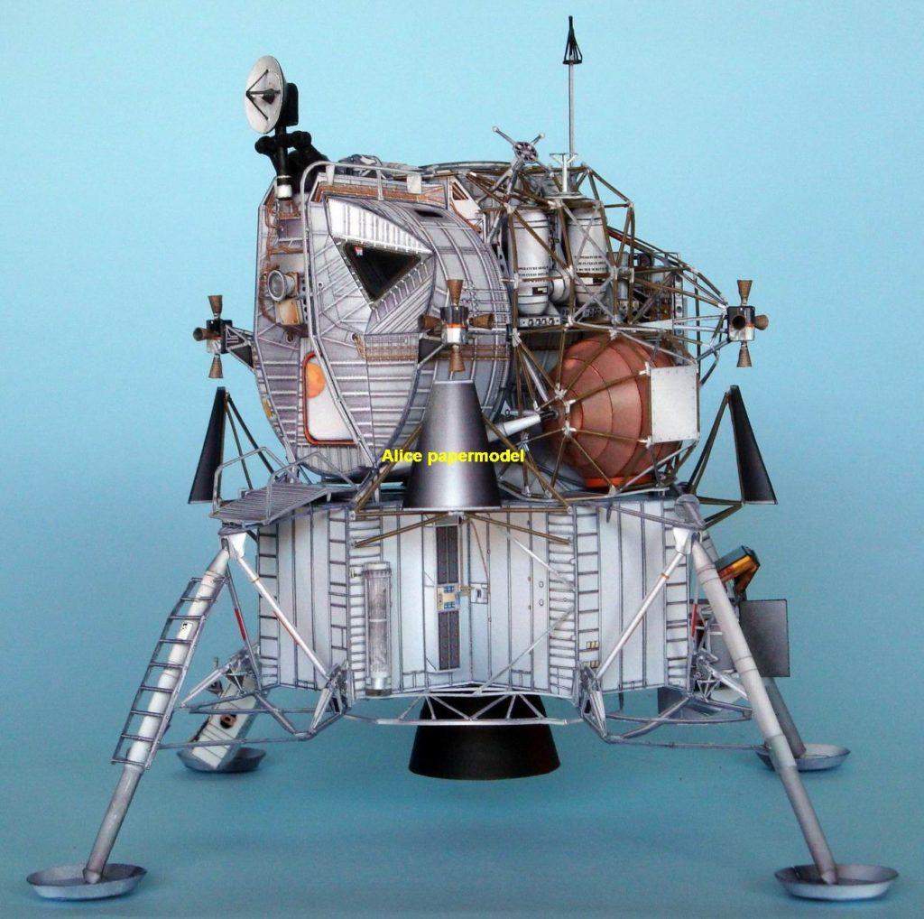 USA NASA Apollo plan LM-7 LM7 Aquarius lunar module astronaut landing Moon LM command CM Satellite spaceship rocket large big scale size model models kit on for sale shop store