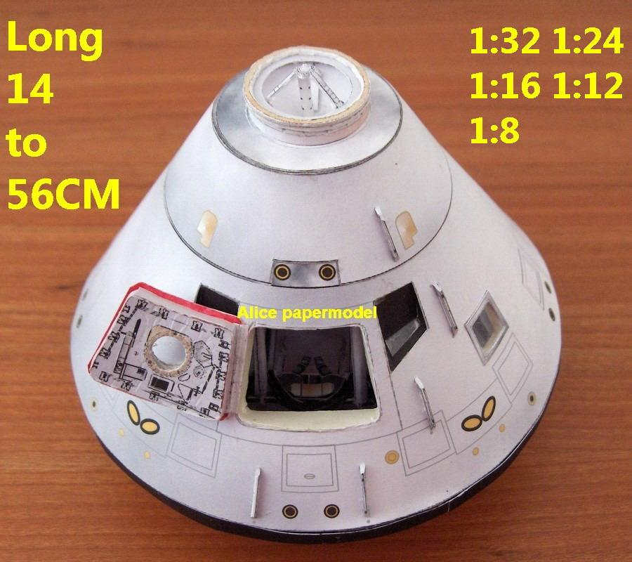 USA US NASA Apollo plan Moon lunar command module astronaut CM landing LM Satellite spaceship ASTP rocket large big scale size model models kit on for sale shop store