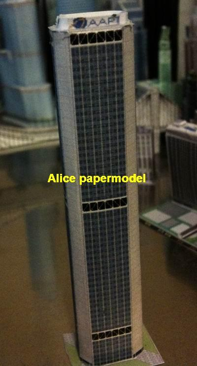 Sydney Suncorp tower Australia skyscraper city street highrise tall High  building city scene big large scale size model models kit on for sale store