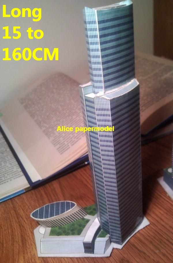 Russia Moscow Eurasia Tower street skyscraper highrise tall High building city scene big large scale size model models kit on for sale store shop