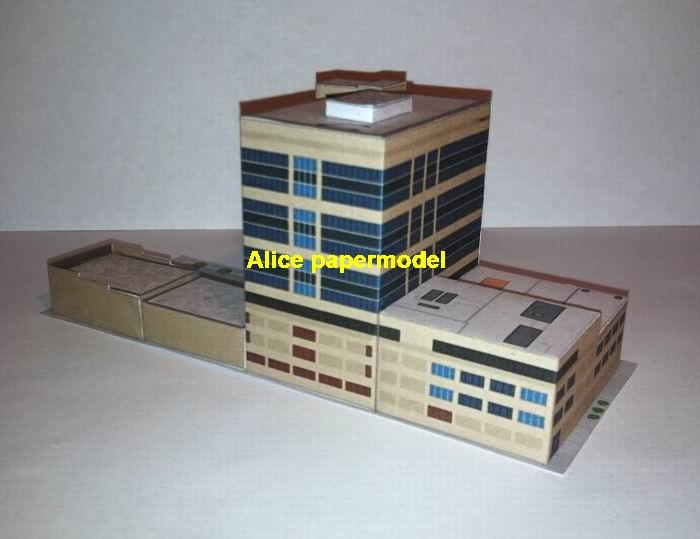 USA US Sioux Falls South Dakota airport parking lot area skyscraper city street highrise tall High building city scene big large scale size model models kit on for sale store shop