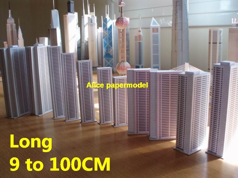 Residential Apartment area buildings Tower skyscraper business street  highrise tall High city scene big large scale size model models kit on for  sale