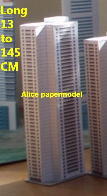 Apartment Residential area buildings Tower skyscraper business street highrise tall High city scene big large scale size model models kit on for sale store shop