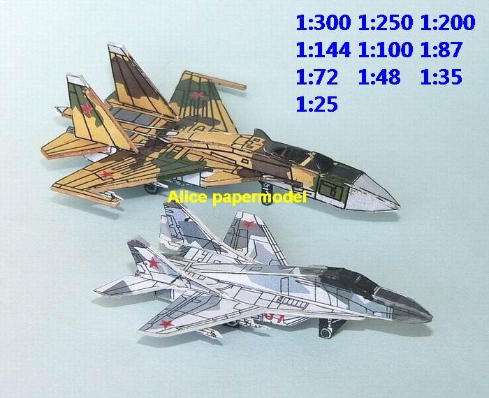 mini small scale Russia airplane airforce mig-29 SU-35 mig29 Fulcrum SU35 flanker fighter gunship plane battlefield warzone model scene models kit on for sale store shop