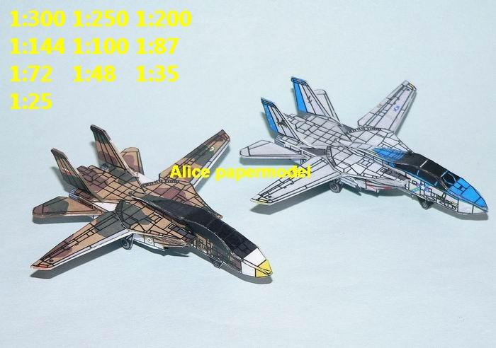 mini small scale US USAF NAVY Iran airforce airplane helicopter Grumman F-14 F14 tomacat fighter plane gunship battlefield warzone model scene models kit on for sale store shop