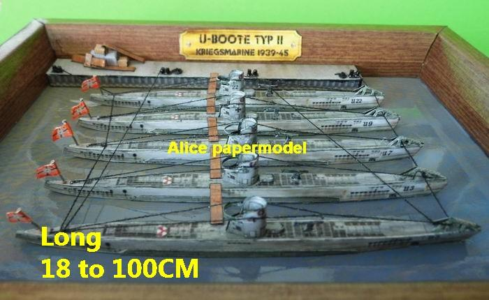 WWII Germany German navy base submarine Bridge U boat U Boot U-Boot U-boat large scale size super big long battleship frigate destoryer Military Soldiers scene warship ship boat models on for sale shop store