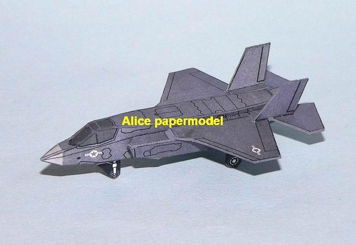 mini small scale US USAF NAVY airforce F-35 F35 lightning II stealth fighter airplane plane gunship battlefield warzone model scene models kit on for sale store shop