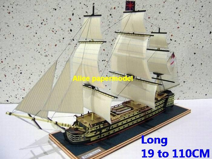 United Kingdom UK HMS Victory Royal Navy 104 gun first rate ship sailship Full-rigged sailing ancient warship model models on for sale store shop
