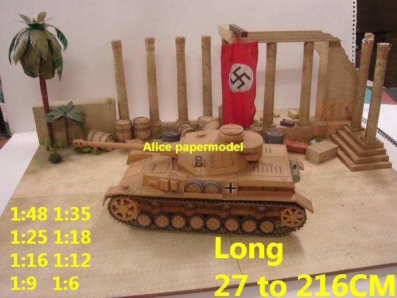 WWII World War II Germany German desert North Africa Rommel ruin abandon battlefield warzone area Military Soldiers model scene diorama Scenery base models kit on for sale store shop