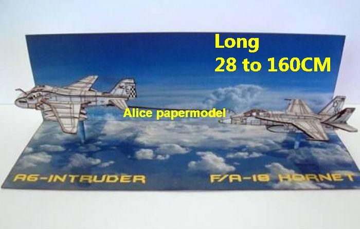 US USAF A6 A-6 Intruder FA18 FA-18 F18 figher Air combat plane war dogfight sky scene aircraft army warplane models for on sale store shop